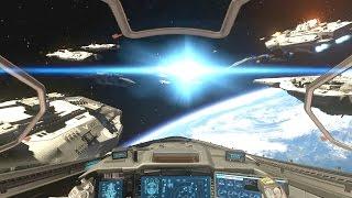 Official Call of Duty Infinite Warfare REVEAL Trailer! (Thrust Jumps, Space Warfare, War)