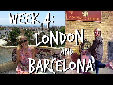 LONDON & BARCELONA || Study Abroad Week #4 Vlog