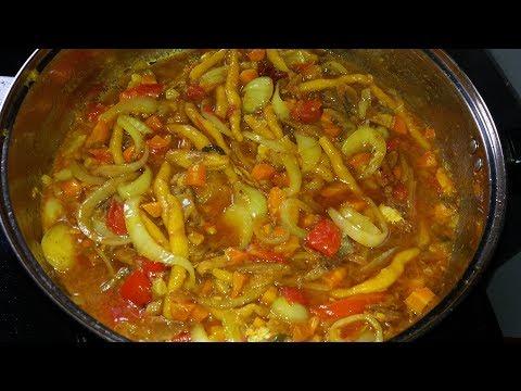 Curried Saltfish Stew