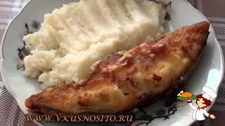 Рыба в кляре - палтус, готовим на сковороде просто и вкусно