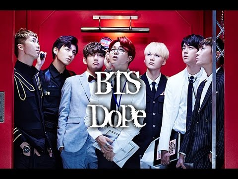 BTS - DOPE MV names/members