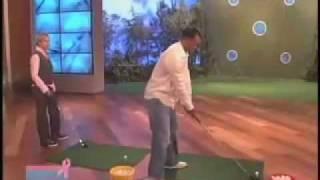 The Ellen DeGeneres Show - Tiger Woods
