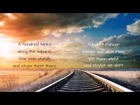 The Hooters - 500 Miles (with lyrics EN/DE)