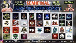 GRAND SEMI FINAL TOURNAMENT LORD MKS TOTAL HADIAH 10 JUTA !! # GIVE AWAY PULSA CEK DESKRIPSI
