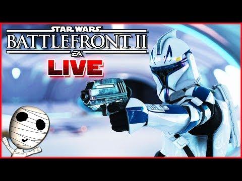 Die Klone schlagen zurück! 🔴 Star Wars: Battlefront II // PS4 Livestream