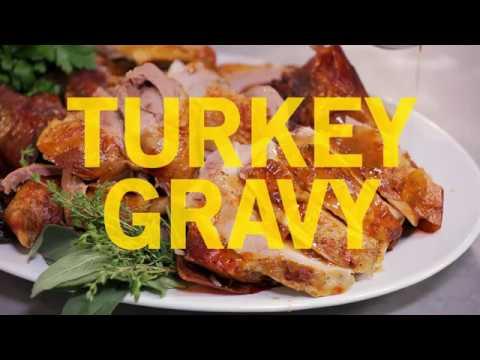 Andrew Zimmern Cooks: Turkey Gravy
