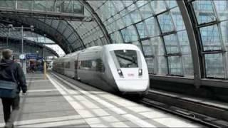 Siemens Trailer für den neuen ICx der Deutschen Bahn - ICx for Deutsche Bahn
