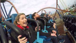 What it's like to ride Valravn at Cedar Point