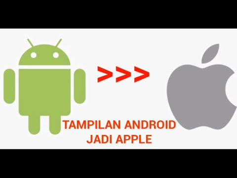 Cara mengubah tampilan Android jadi iphone ( tanpa root dan flash)