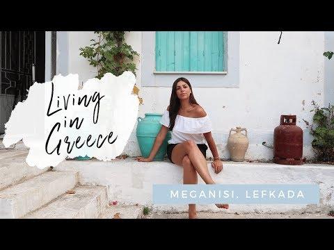 I'm Living In Greece! VLOG- Lefkada, Meganisi