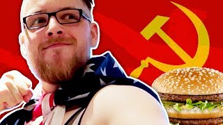 SMASHING COMMIES WITH CHEESEBURGERS