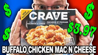 Buffalo Chicken Macaroni &amp Cheese  CRAVE Frozen Dinners