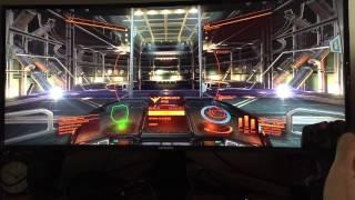 samsung S34E790c game test - Elite Dangerous part 2