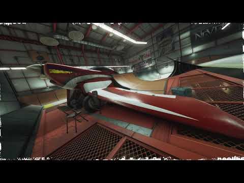 #THPS 1+2 Hangar Level Flythrough