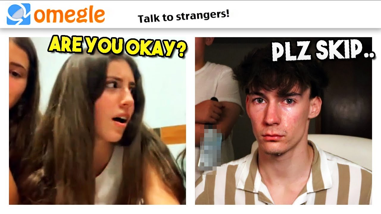 omegle but i can't skip ANYONE or else..