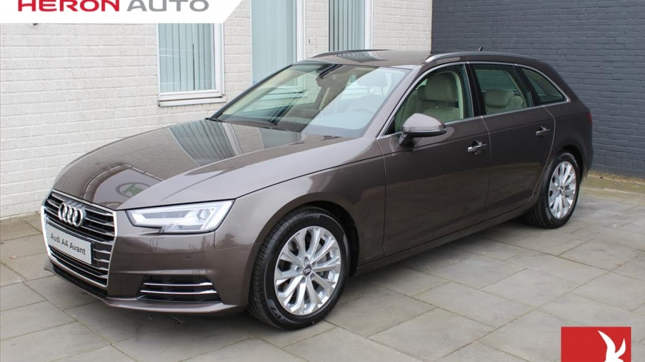 audi a4 avant 2 0 tdi 190pk s tr design pro line pl 39 pano youtube. Black Bedroom Furniture Sets. Home Design Ideas
