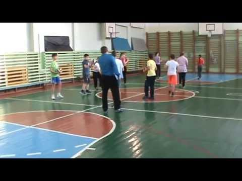 Урок физической культуры в 5 классе Волейбол. Техника передачи мяча двумя руками сверху.