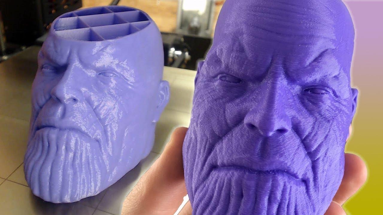 Satisfying 3D Prints TimeLapse episode 1 (Thanos, loot llama, lattice cube,  benchy)