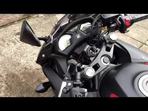 Honda CBR650F 2017 Matt Black