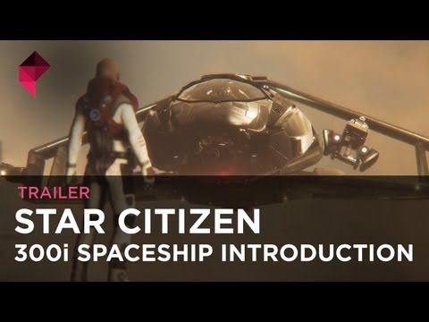 First look at Star Citizen's 'BMW' spaceship, the 300i