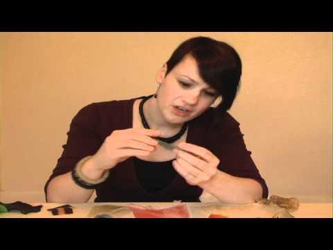 Bioplastic Jewellery - creating