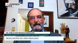 LA DEVALUACIÓN DEL PESO MEXICANO. Pablo Moctezuma Barragán