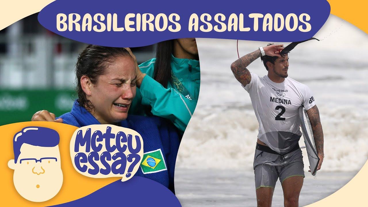 """""""ATLETAS TÃO SAINDO DO BRASIL PARA SEREM ROUBADOS NO JAPÃO"""" - METEU ESSA? #14"""