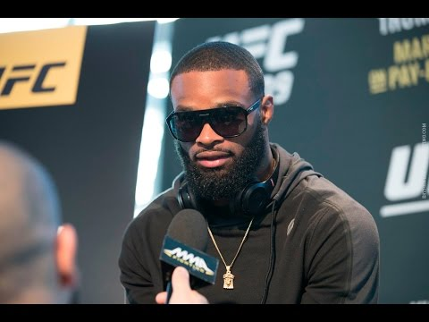 UFC 209: Tyron Woodley Says Georges St-Pierre Is 'Avoiding' Fighting Him