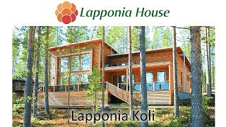 Lapponia House Koli - award winning ecological log homes for healthy living