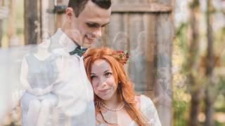 Яркая свадьба Даши и Андрея в стиле Рустик. Слайд Шоу из фотографий.
