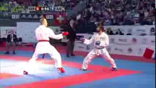 Download Video Rafael AGHAYEV vs Noah BITSCH. FINAL Male Kumite -75kg. European Karate Championships 2015 MP3 3GP MP4