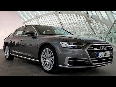 All-New Audi A8--A ROLLING TECH SHOWCASE