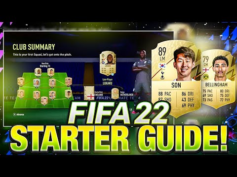 HOW TO START FIFA 22 CORRECTLY GUIDE! |