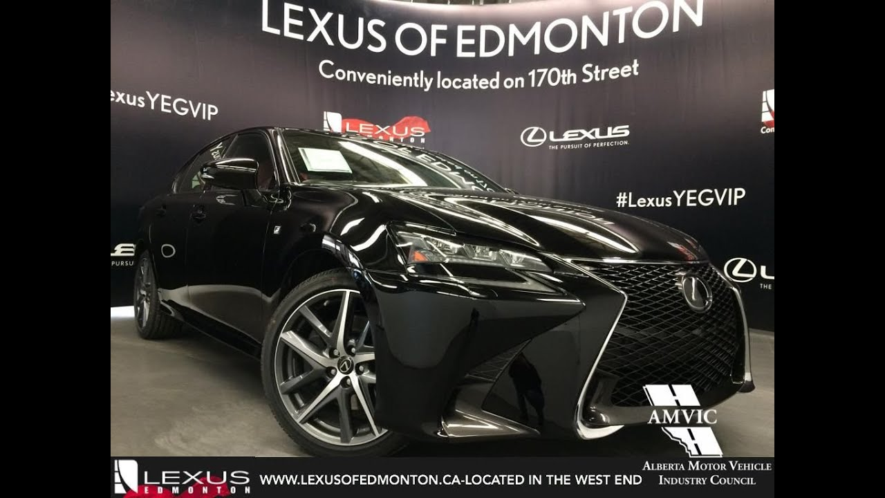 2016 Black Lexus GS 350 AWD F Sport Series 2 In Depth