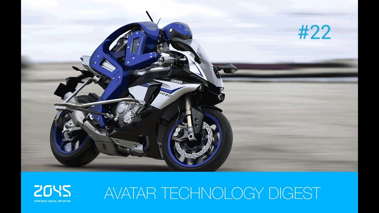 #22 Avatar Technology Digest / Motorcycle-riding humanoid robot / Biomimetic worm-bot