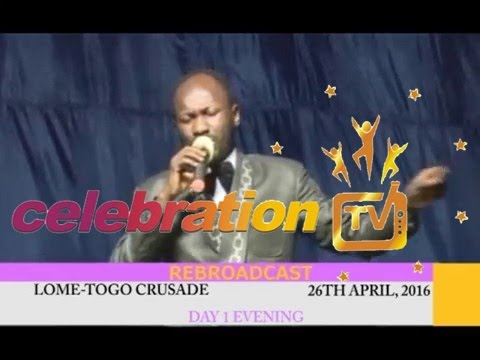 Lome Togo Crusade with Apostle Johnson Suleman#26th April, 2016#day 1 evening#PART 1