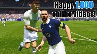1,000 online videos special | France vs. England | FIFA 15