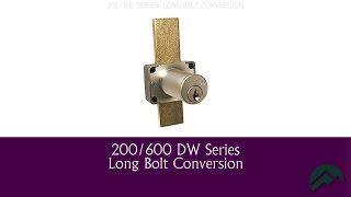 200 / 600 Series - Long Bolt Installation Instructions