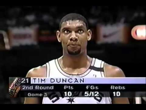 Utah Jazz San Antonio Spurs 1998 Game 4