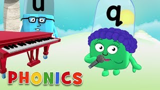 Phonics - Learn to Read   Musical Letters   Alphablocks