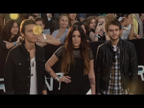 ZEDD, Matthew Koma And Miriam Bryant DIVERGENT World Premiere Arrivals