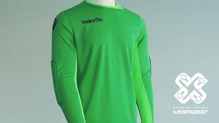 обзор вратарской футболки Macron Lynx  Teamwear.com.ua