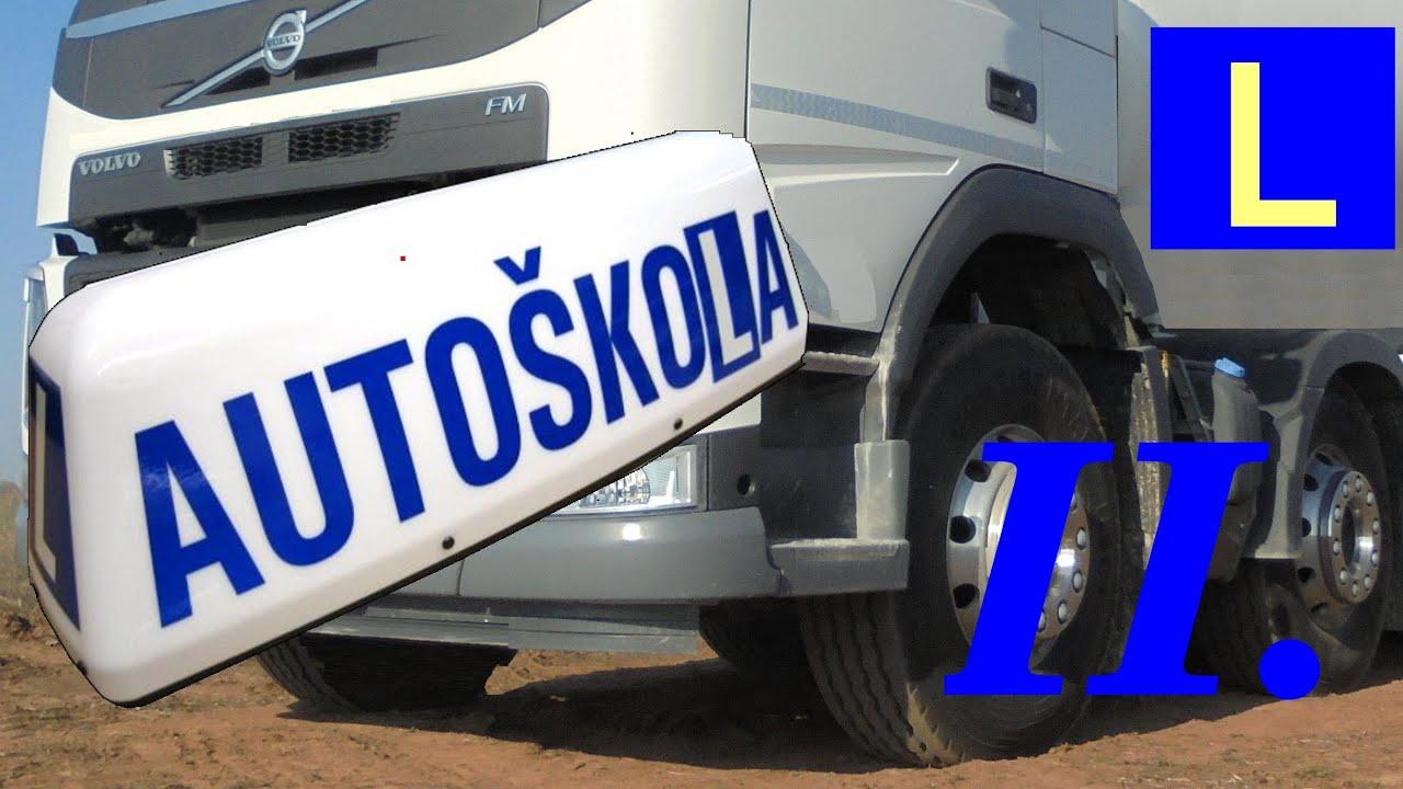 TruckŠkola: Připojovací pruhy [i pro osobáky!]