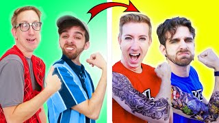 COOLEST HACKS TO BECOME POPULAR AT SCHOOL - Epic Tik Tok Hacks Tested by Spy Ninjas