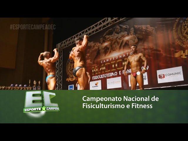 Maceió sedia o Campeonato Nacional de Fisiculturismo e Fitness