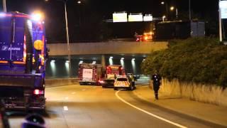 Flere personer er skadd etter en alvorlig trafikkulykke på Ryen i Oslo, 10.08.2015