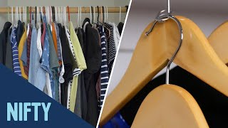 10 Ways To Organize Clothes & Accessories
