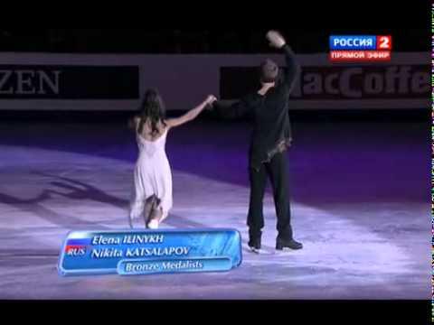 EC 2012 - Ice Dance - Victory Ceremony
