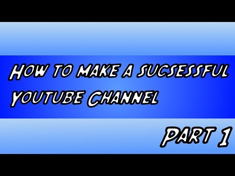 How to make a youtube channel: Episode 2 - Designing Avatar/Profile Pic