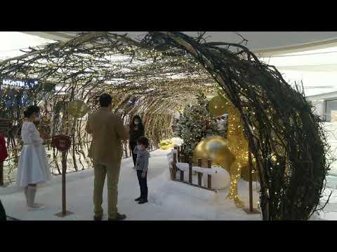 Burjuman Mall Dubai [4K] I Christmas Winter 2020 I  Wonderland in Dubai